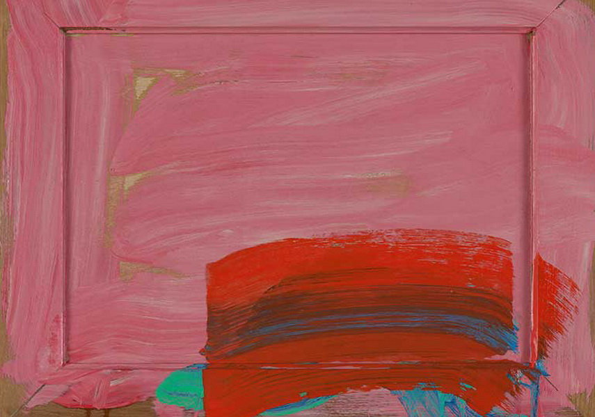 In 2017 Howard Hodgkin's works were shown according to his terms and that was covered by news