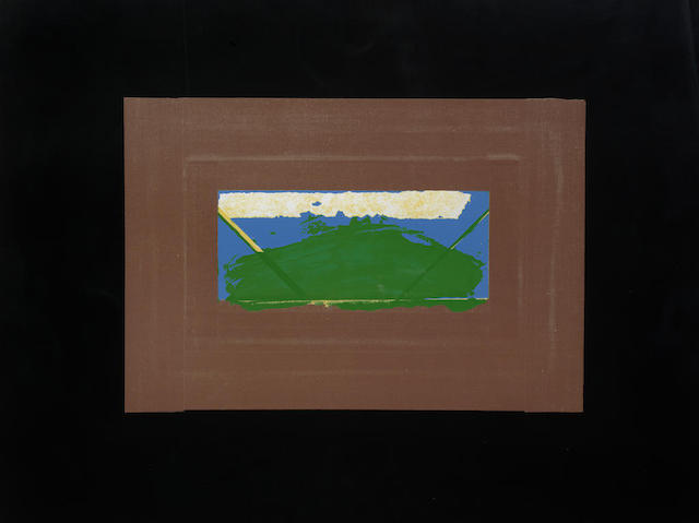 Howard Hodgkin-Indian View G-1971