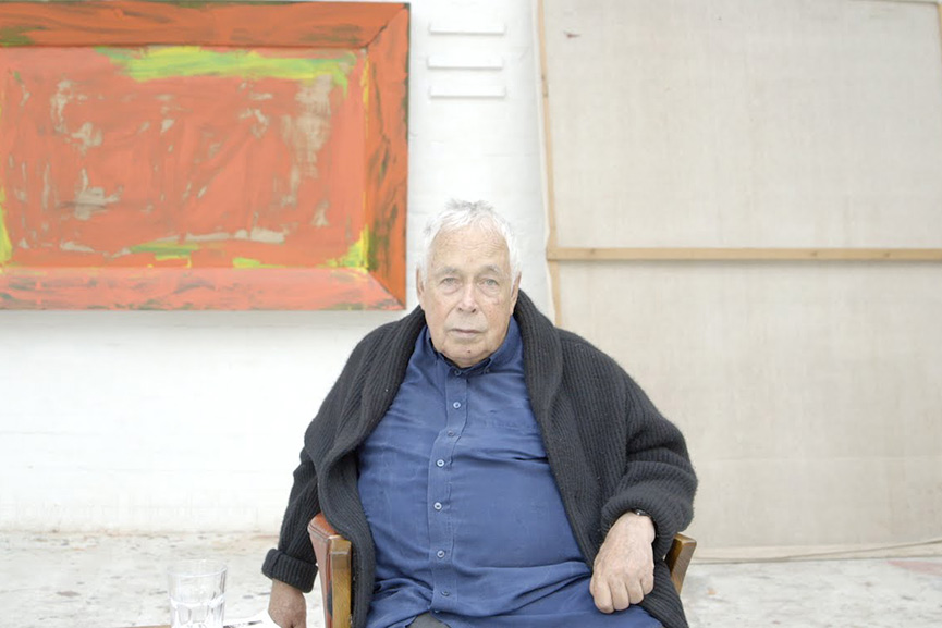 One of the most important British painters of Modern art, Howard Hodgkin introduced painting as an object