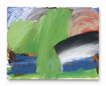 Howard Hodgkin-Rain at ll Palazzo-1998