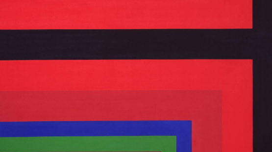 Howard Mehring - Crest, 1966 (detail)