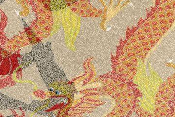 Huang Yong - Mao - Dragon VI (Detail), 2007