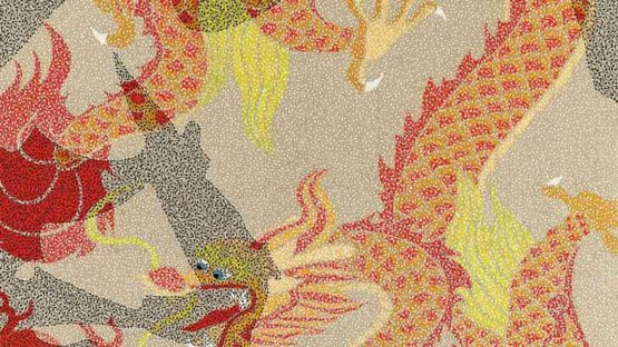Huang Yong - Mao - Dragon VI (Detail), 2007