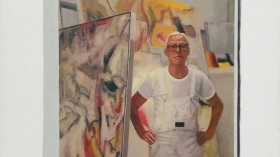 Hugh Mendes - Obituary Willem de Kooning, 2017 (detail)