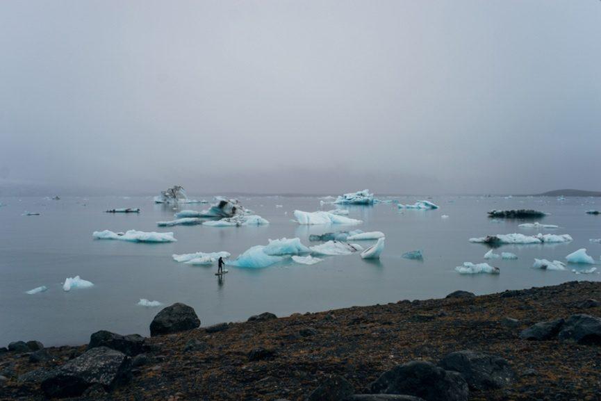 Hula Amoung Mealting Icebergs