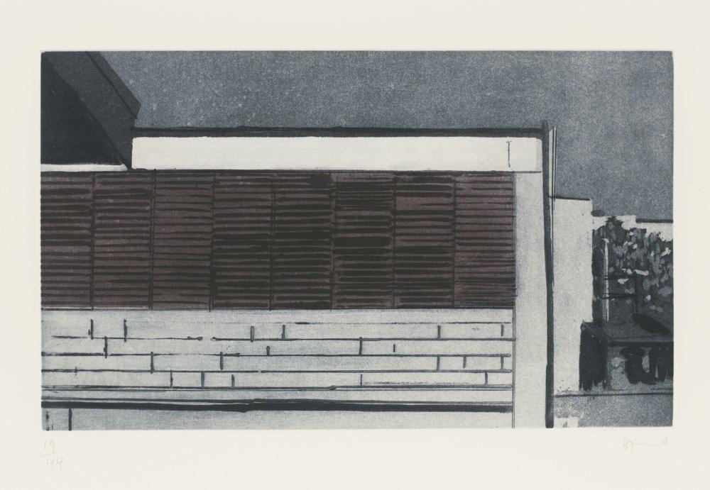 Hurvin Anderson-Nine Etchings (One Plate)-2005