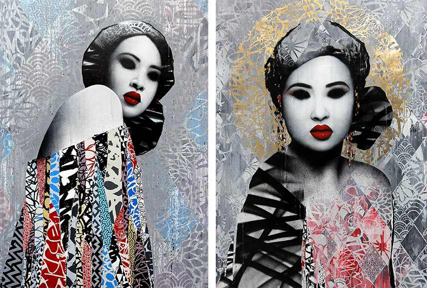 hush exhibition