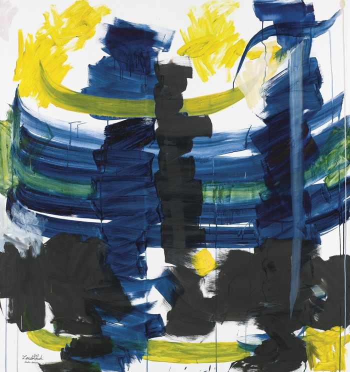 Hossein Zenderoudi-Iris-2007