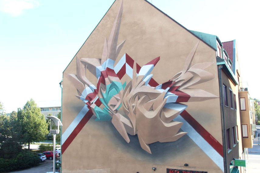 Peeta for No Limit street art festival
