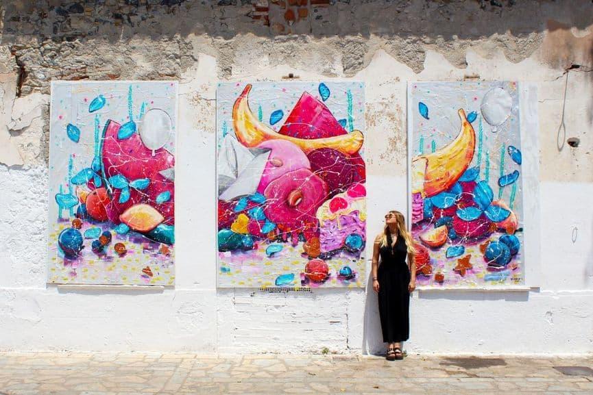 yiakou mural
