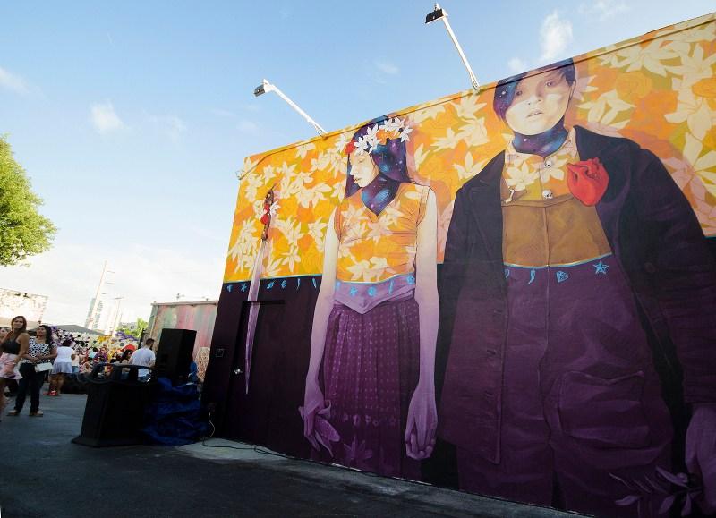 INTI - Codo a Codo, en la calle somos mucho mas que dos - Wynwood, Miami, 2015 - detail #4