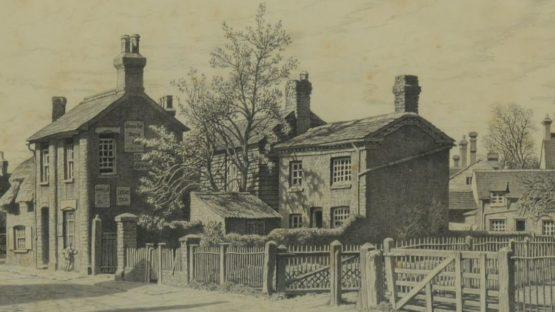 Ian Strang - Village street, Wavendon, Bucks - Image via globalauctionplatform