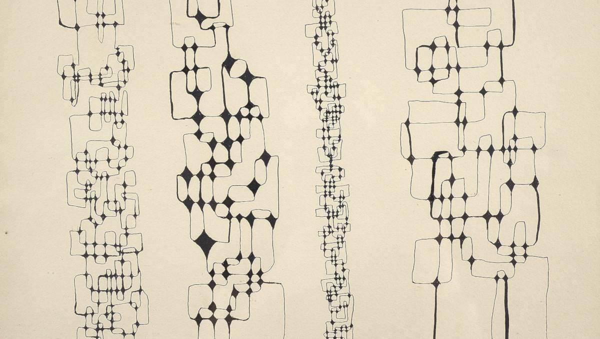 Ibram Lassaw - Untitled, 1967 (detail)