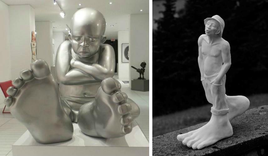 Idan Zareski - Baby Foot, 2014 - Le Siffleur (The Whistler), 2014