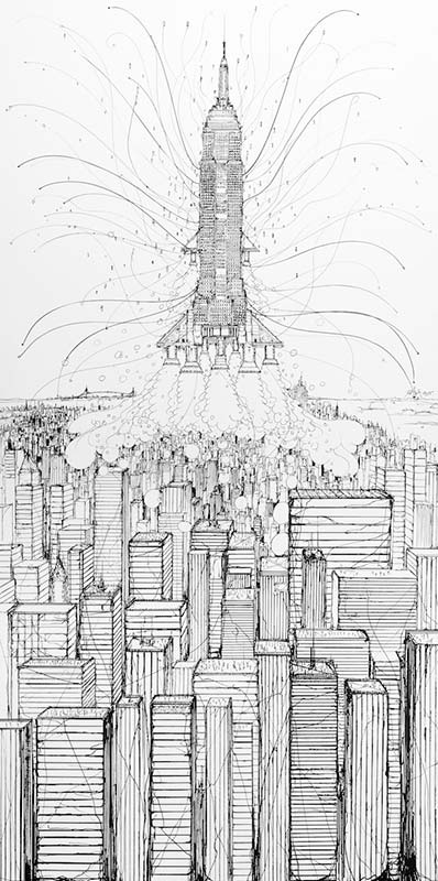 Iemza-Envol 2033 / Empire State Building-2015