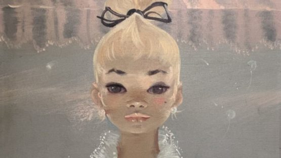 Igor Pantuhoff - Untitled (Blonde), 1960s (detail)