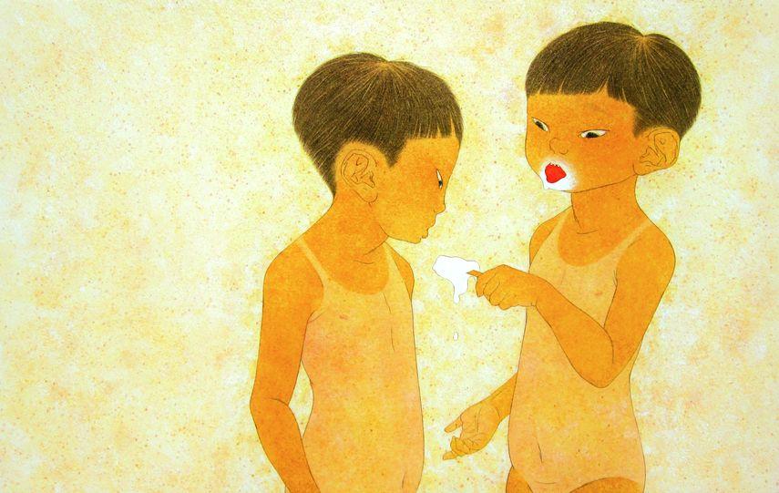 Ikumi Nakada - Melt at 2018 edition of Asia Contemporary Art Shows