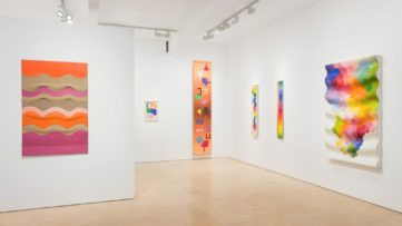 Ilona Keserü - solo show at Stephen Friedman Gallery, installation view