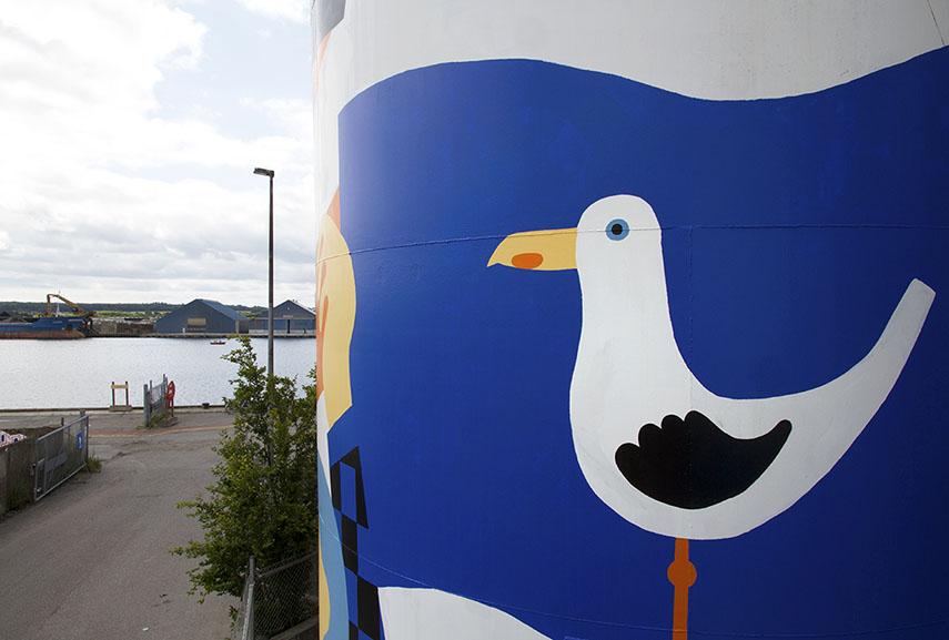 public art horsens new murals denmark festival