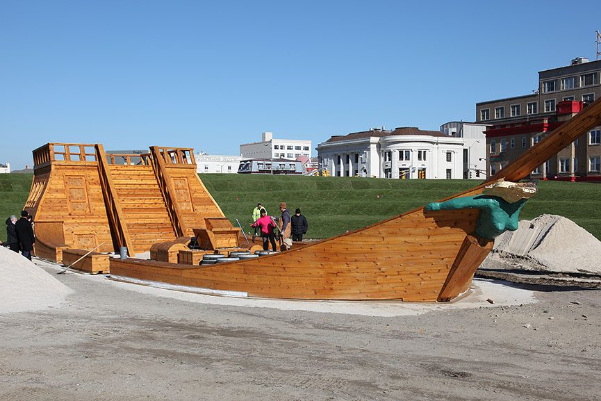 Pirate Ship (The Devil's Rage), 2010