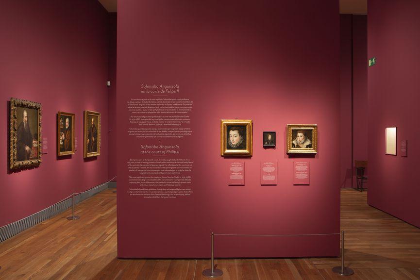 Image of the exhibition galleries. © Museo Nacional del Prado
