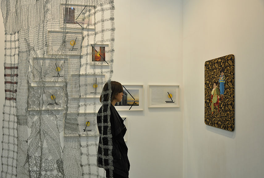 In Mostra was curated by Stefano Collicelli Cagol, a young curator