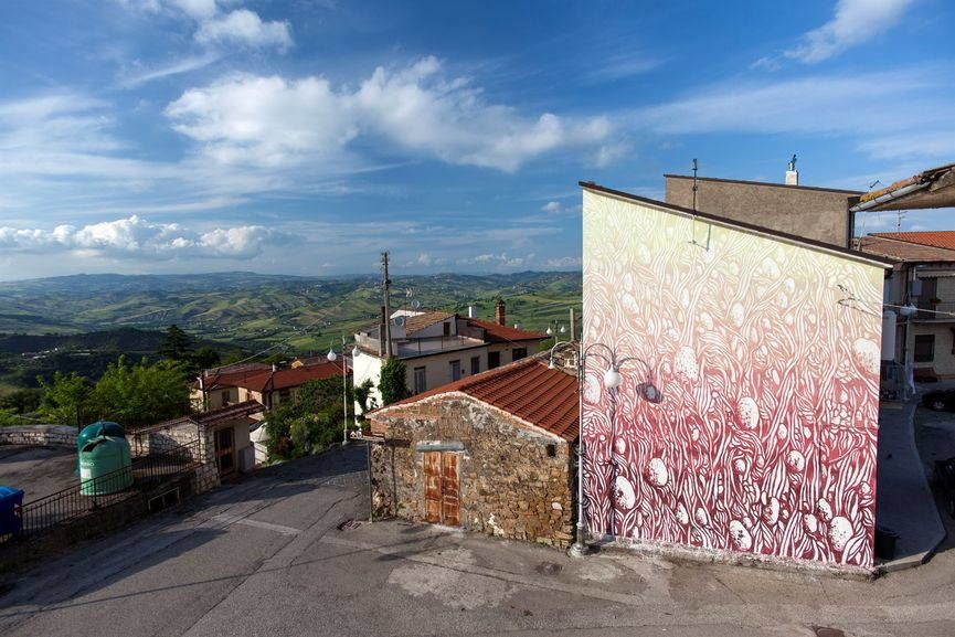 In the Heart of Irpinia, Tellas. Photo Antonio Sena.