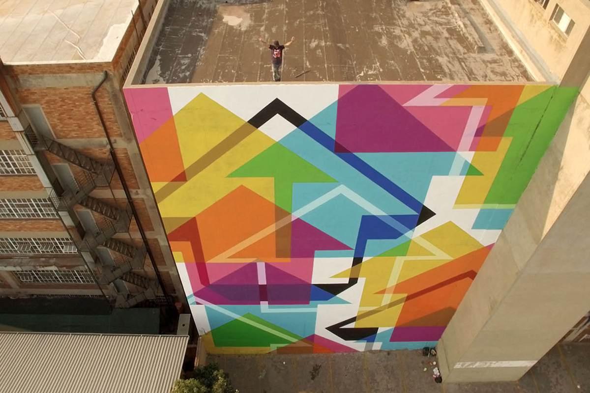 Incognito mural, Johannesburg, September 2015