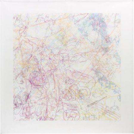 Ingrid Calame-Working Drawing #90-2000