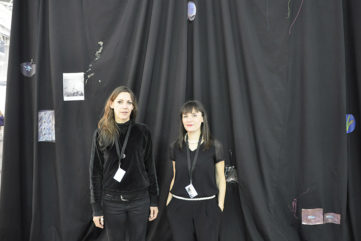 Artist Ingrid Luche and Arlene Berceliot Courtin Present Air de Paris Installation for Present Future Section of Artissima 2015‏