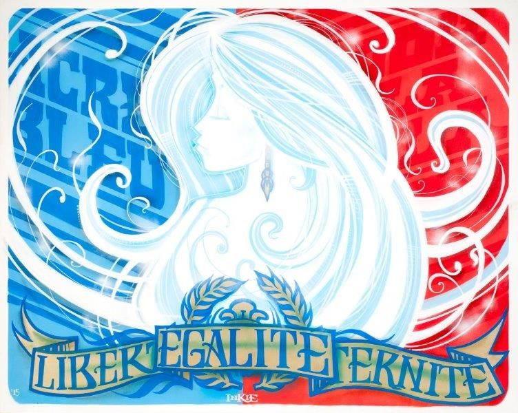 Inkie-Liberte, Egalite, Fraternite-2015