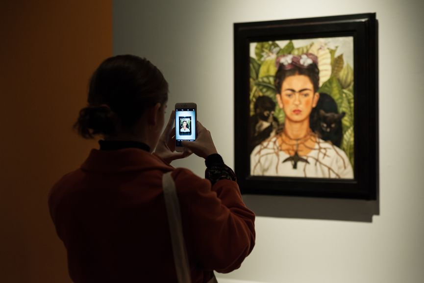 Installation View; kahlo exhibition
