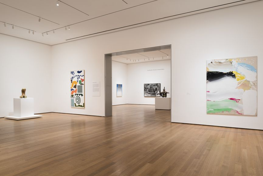 Installation View of the collection