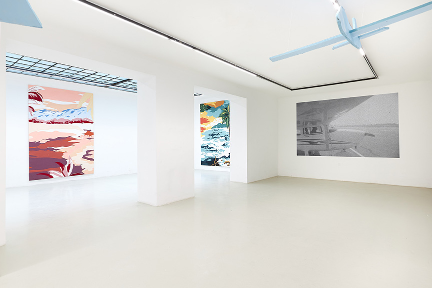 Installation View Grear Patterson Galerie Lisa Kandlhofer 2019