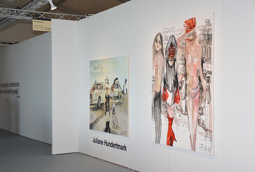 Installation View Heissingsart Gallery Juliane Hundertmark