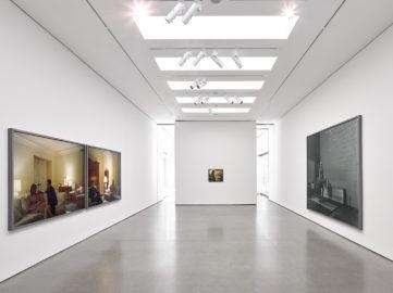 Installation Views, Jeff Wall White Cube Masons Yard London