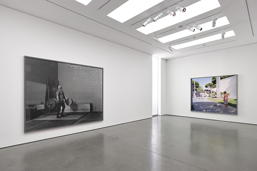 Installation Views, Jeff Wall White Cube Masons Yard London
