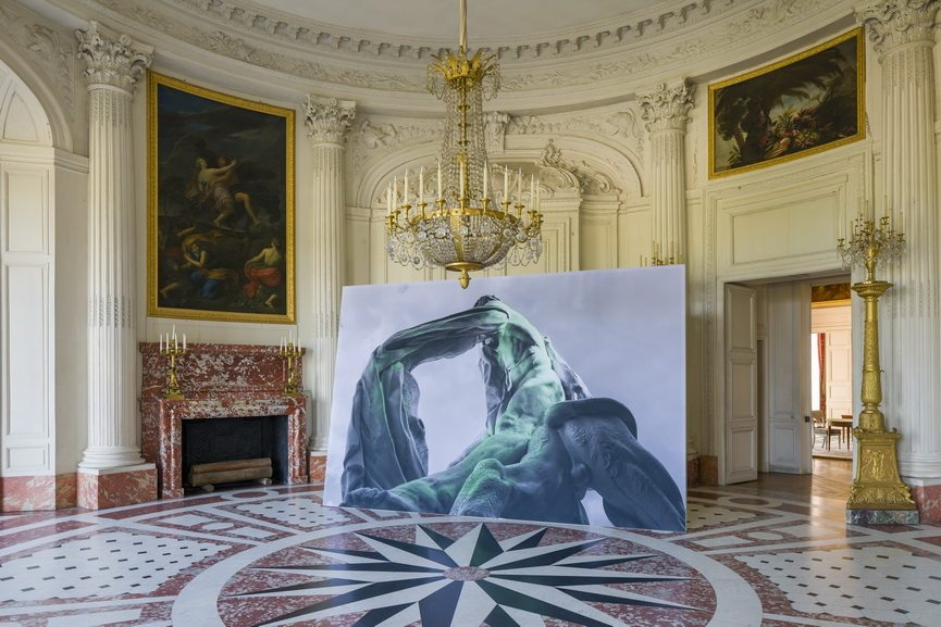 Installation View of the exhibition Versailles - Visible Invisible