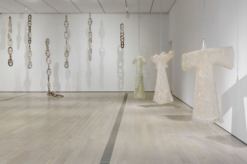 Installation photograph, The Allure of Matter: Material Art from China at the Los Angeles County Museum of Art