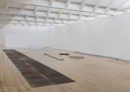 Installation view, Carl Andre: Sculpture as Place, 1958–2010, Dia:Beacon, Riggio Galleries, Beacon, New York. © Carl Andre/Licensed by VAGA, New York. Photo: Bill Jacobson Studio, New York. Courtesy DiaArt Foundation, New York