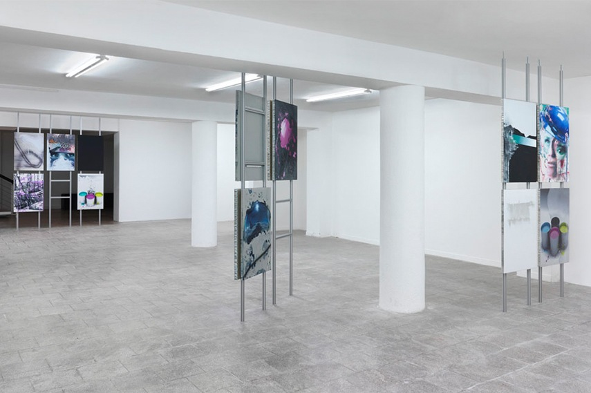 Installation view - Dirk Skreber -The Long Hello, January 9 - February 27, 2016