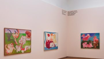 Installation view Maria Lassnig – Ways of Being, 2019