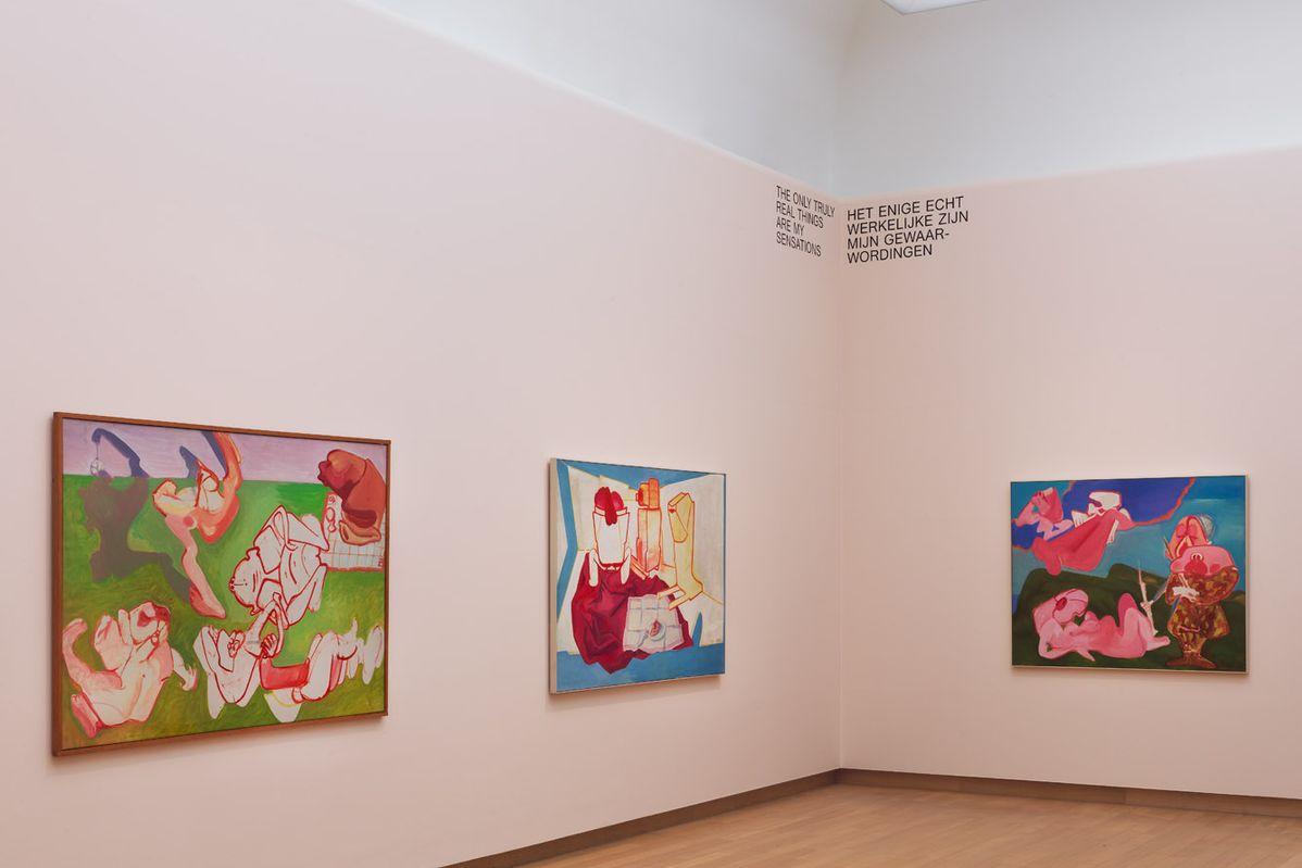 Installation view Maria Lassnig – Ways of Being, 2019