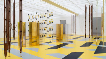 Installation view Resonating Spaces Fondation Beyeler 2019