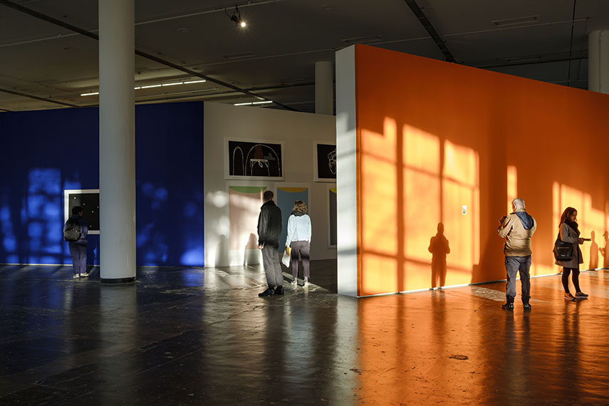 Installation view of Antonio Ballester Moreno exhibition