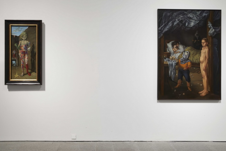 Installation view of Dorothea Tanning Beyond the Door, Another Invisible Door_