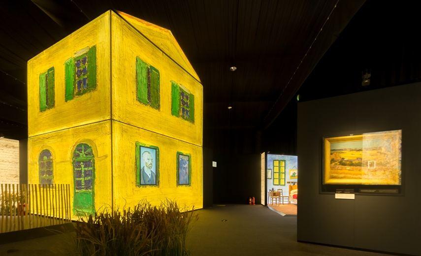 Installation view of Meet Vincent van Gogh