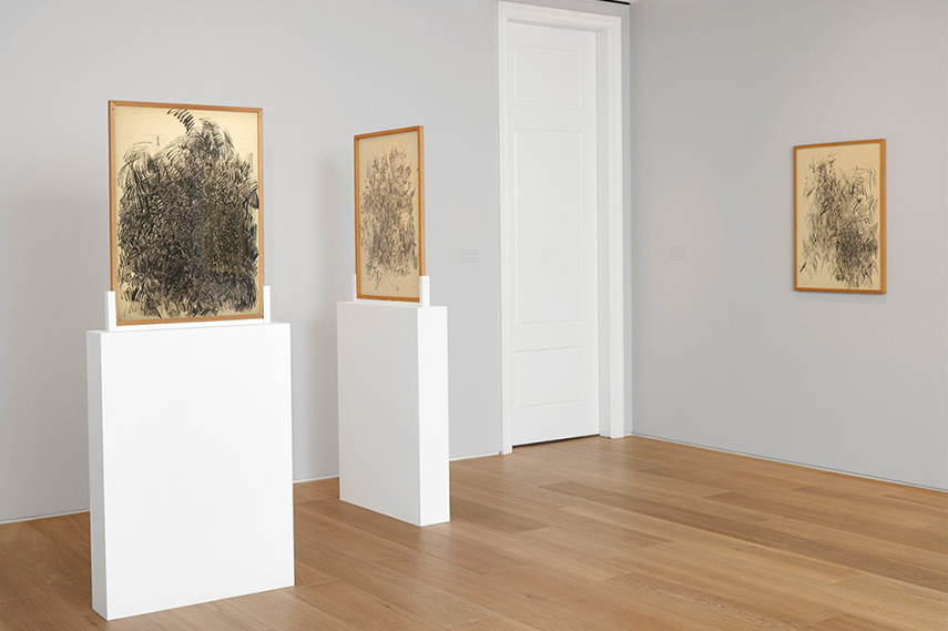 Installation view of Opalka's work made between 1959 and 1960 at Dominique Levy Gallery