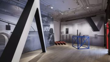 Installation view of Other Primary Structures at The Jewish Museum, New York