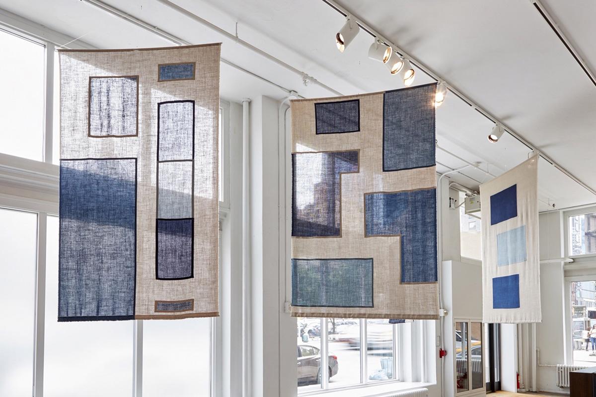 Installation view ofRavelled Threadsat Sean Kelly, New York